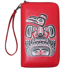 Bill Reid Children of the Raven Travel Wallet