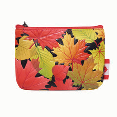 Fall Leaves Coin Purse