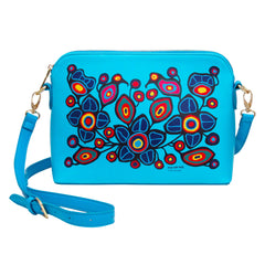 Norval Morrisseau Flowers and Birds Art Bag
