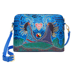 Leah Dorion Breath of LIfe Art Bag