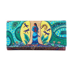 Leah Dorion Strong Earth Woman Wallet