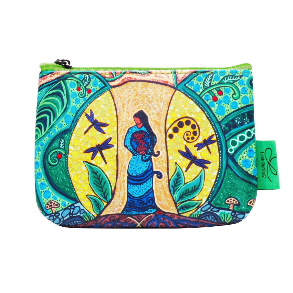 Leah Dorion Strong Earth Woman Coin Purse