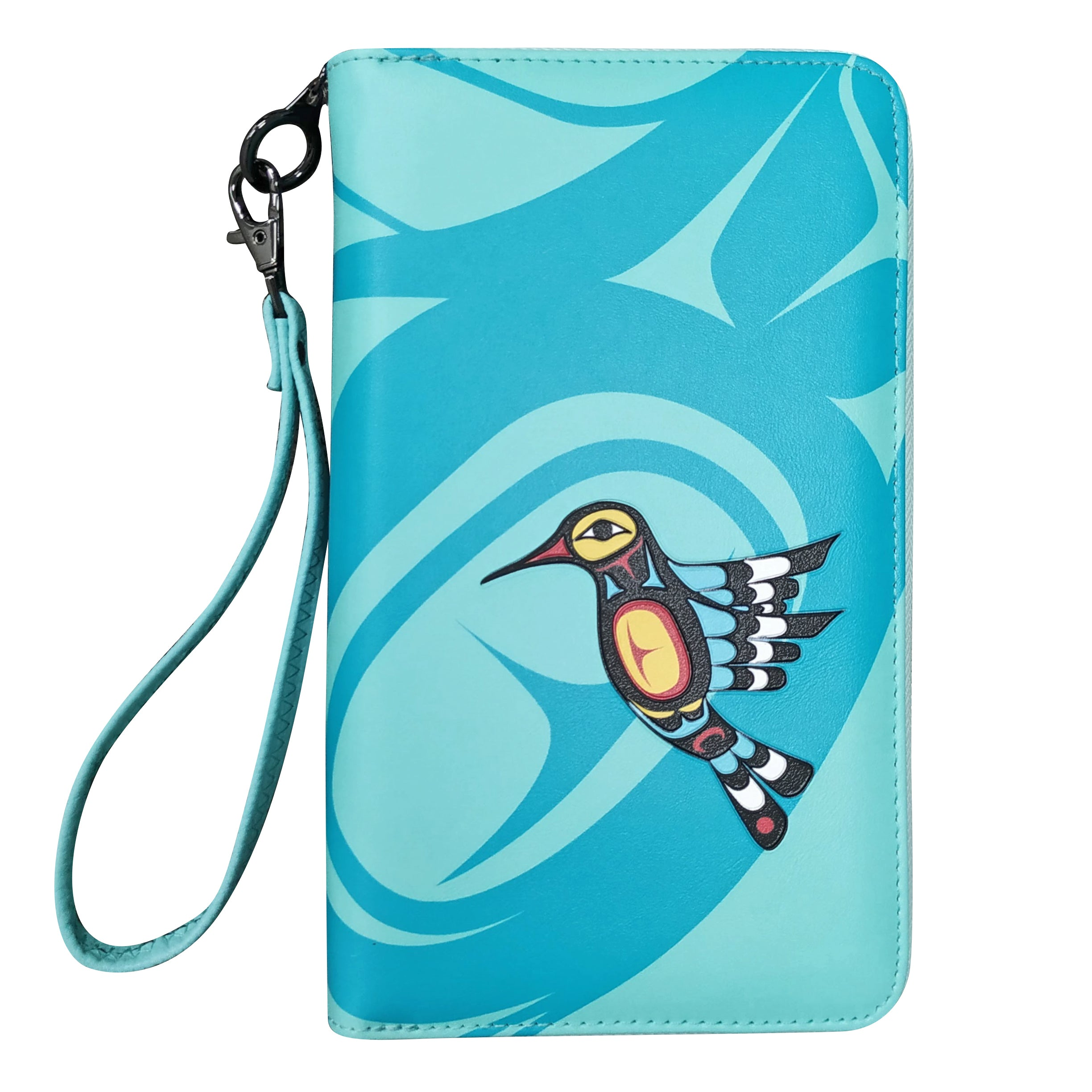 Francis Dick Hummingbird Travel Wallet