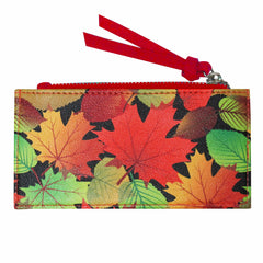 Fall Leaves Card Holder
