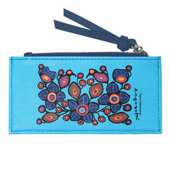 Norval Morrisseau Flowers and Birds Card Holder
