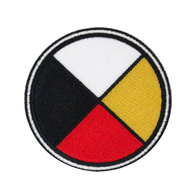 Medicine Wheel Iron-on Patch - Oscardo