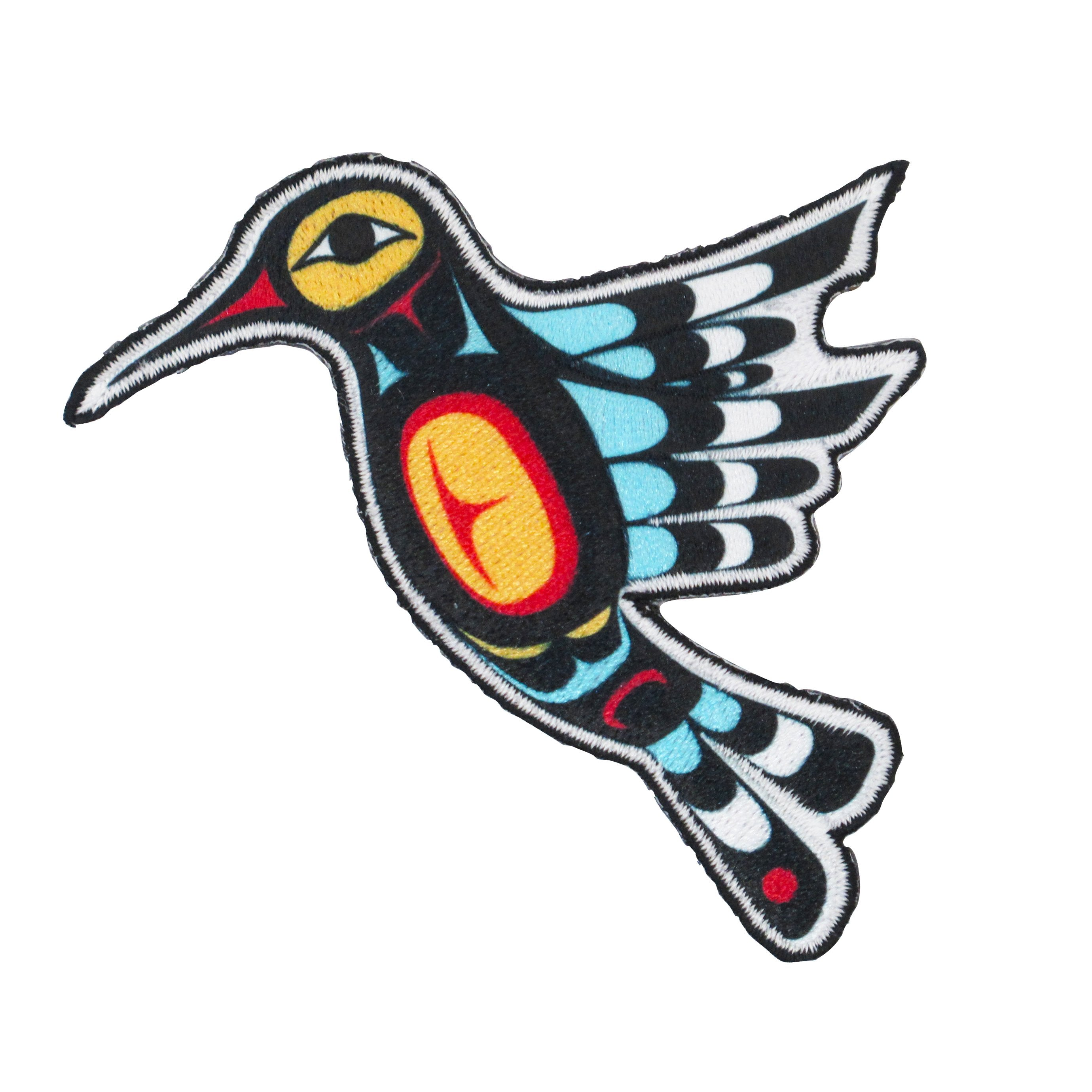 Francis Dick Hummingbird Iron-on Patch