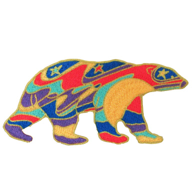 Dawn Oman Alpha Bear  Iron-on Patch - Oscardo