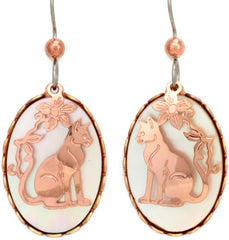 Cat Moon Dance Earrings