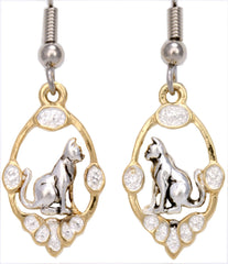 Cat Gold Reflections Earrings