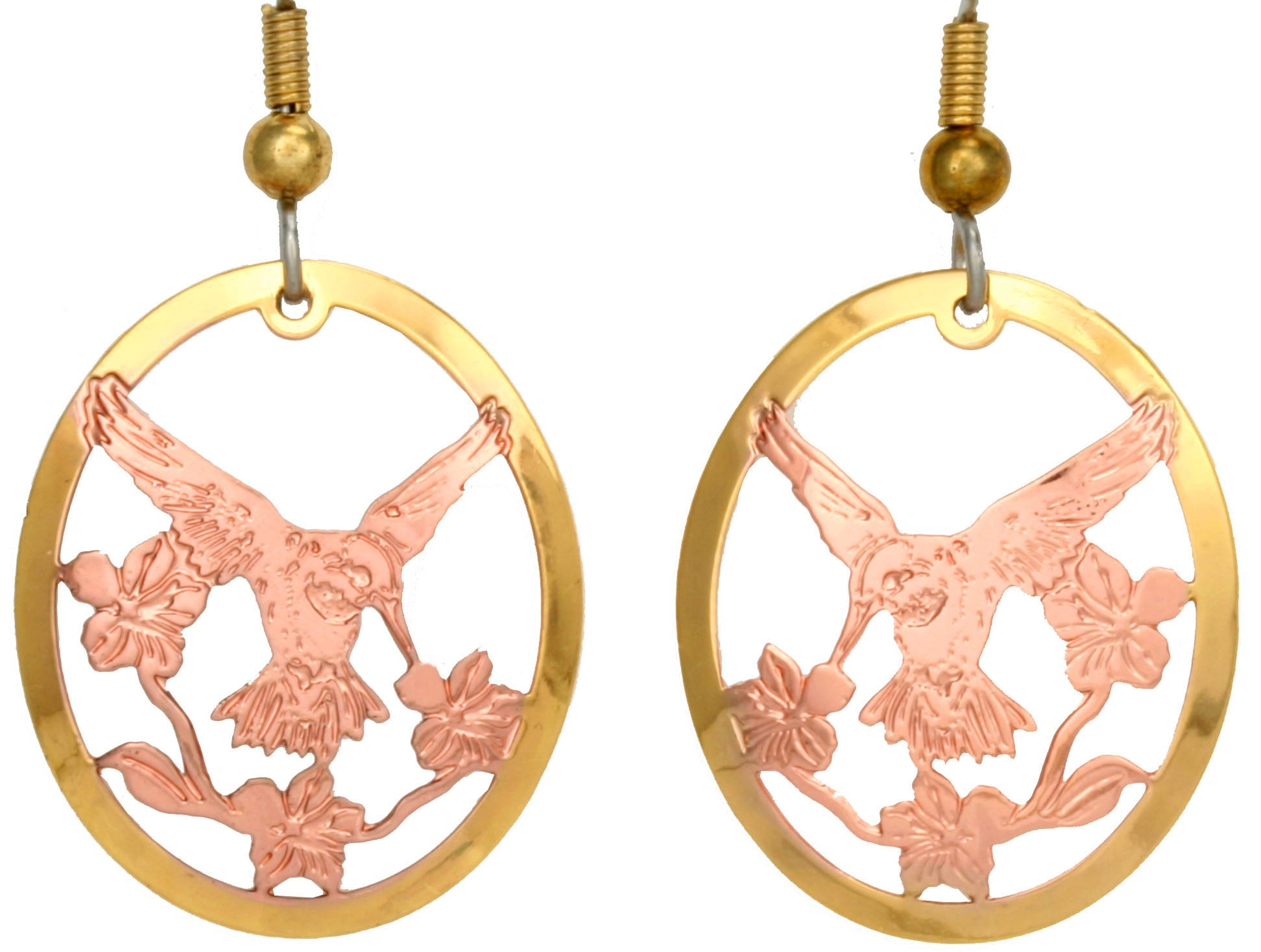 Hummingbird Cut-out Earrings