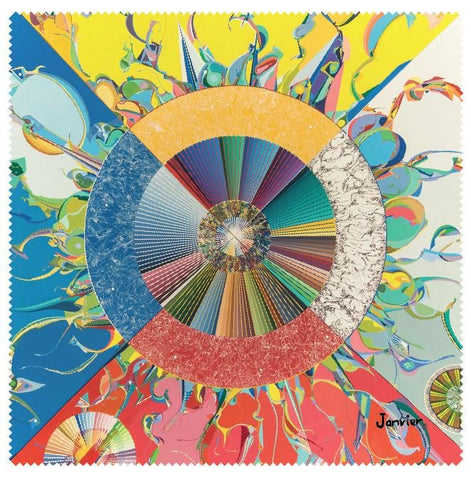 Alex Janvier Morning Star Microfibre Glass Cleaner