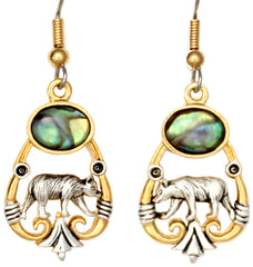 Bear Ocean Dance Earrings