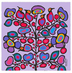 Norval Morrisseau Woodland Floral Microfibre Glass Cleaner