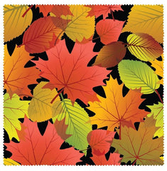 Fall Leaves Microfibre Glass Cleaner