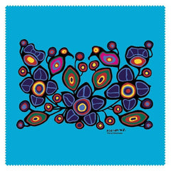 Norval Morrisseau Flowers and Birds Microfibre Glass Cleaner