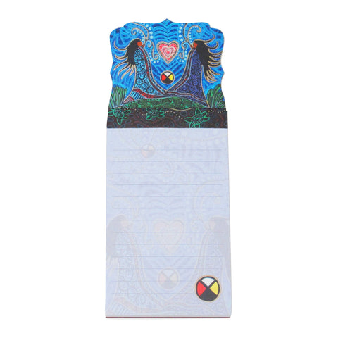 Leah Dorion Breath of Life Magnetic Note Pad