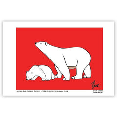 Jason Carter Mother Bear Proudly Protects Art Card