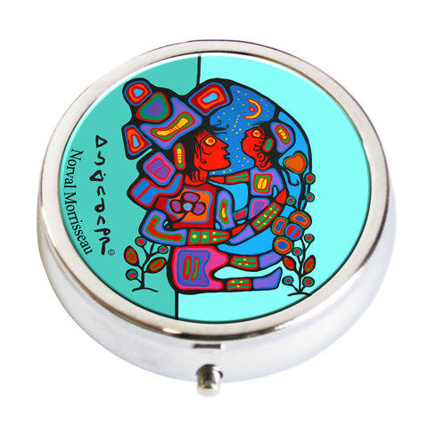 Norval Morrisseau Mother & Child Pill Box