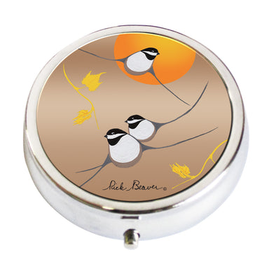 'Chickadee' Pill Box - Oscardo
