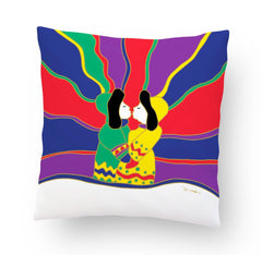 Dawn Oman Aurora Kiss Cushion Cover