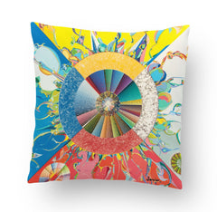 Alex Janvier Morning Star Cushion Cover