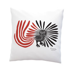 Kenojuak Ashevak Enchanted Owl Cushion