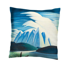 Lawren Harris Lake and Mountains Cushion