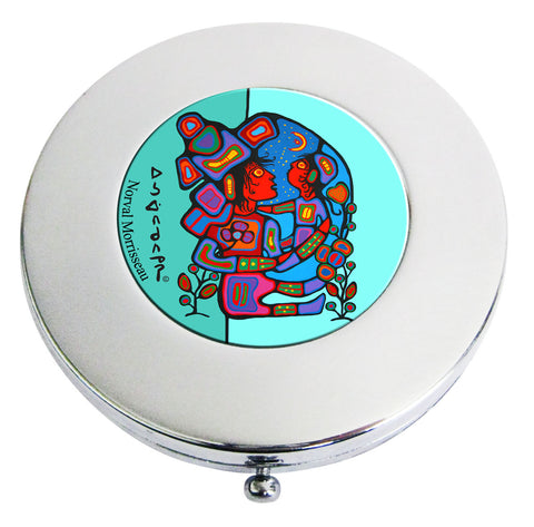Norval Morrisseau Mother & Child Compact Mirror