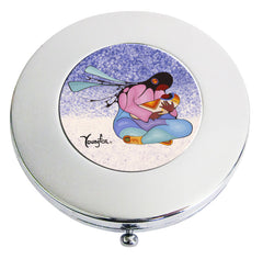 Cecil Youngfox Joyous Motherhood Compact Mirror
