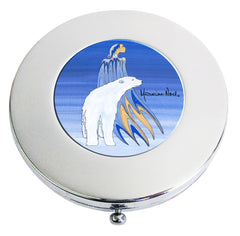Maxine Noel Mother Winter Compact Mirror