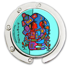 Norval Morrisseau Mother & Child Purse Hanger