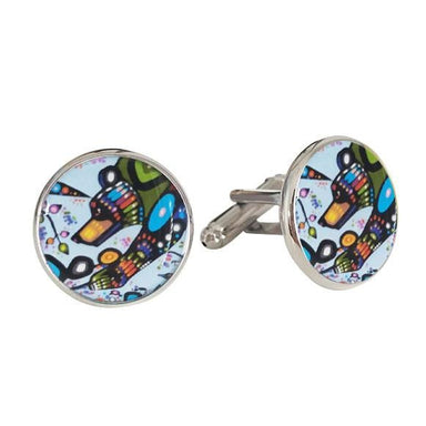 John Rombough Bear Cufflinks - Oscardo