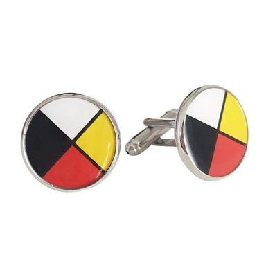 Medicine Wheel Cufflinks - Oscardo