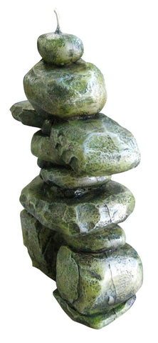 Inukshuk Candle