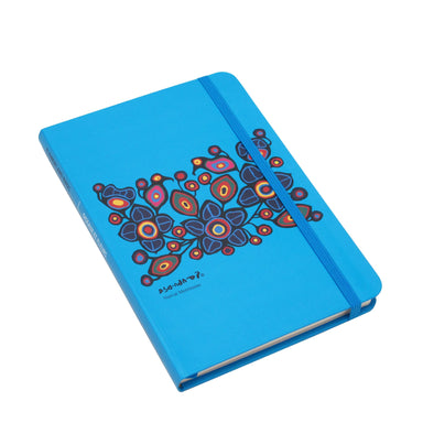 Norval Morrisseau Flowers and Birds Artist Hardcover Journal - Oscardo