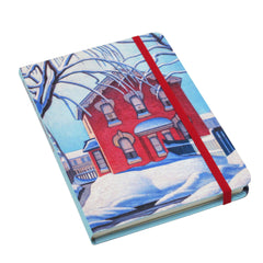 Lawren Harris Red House in Winter Artist Hardcover Journal