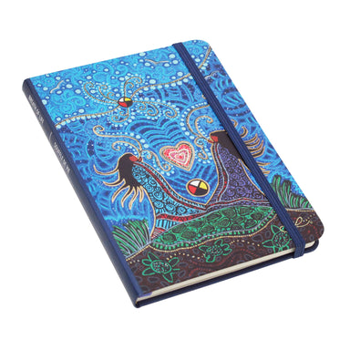Leah Dorion Breath of Life Artist Hardcover Journal - Oscardo