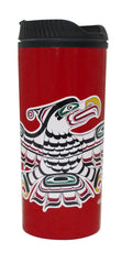 Richard Hunt Kwaguilth Thunderbird Travel Mug
