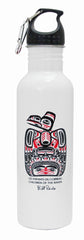 Bill Reid Children of the Raven Stainless Steel Water Bottle