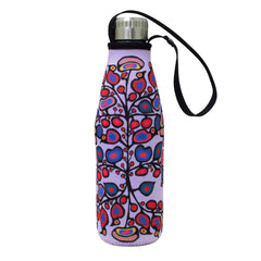 Norval Morrisseau Woodland Floral Water Bottle and Sleeve
