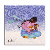 Cecil Youngfox Joyous Motherhood Ceramic Tile-Trivet
