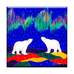 Dawn Oman Sky Watchers Ceramic Tile-Trivet
