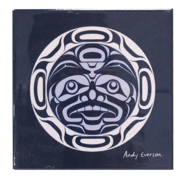 'Confession to the Moon' Ceramic Tile-Trivet - Oscardo