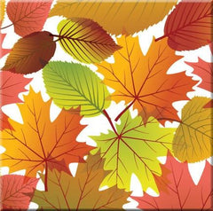 'Fall Leaves' Ceramic Tile-Trivet