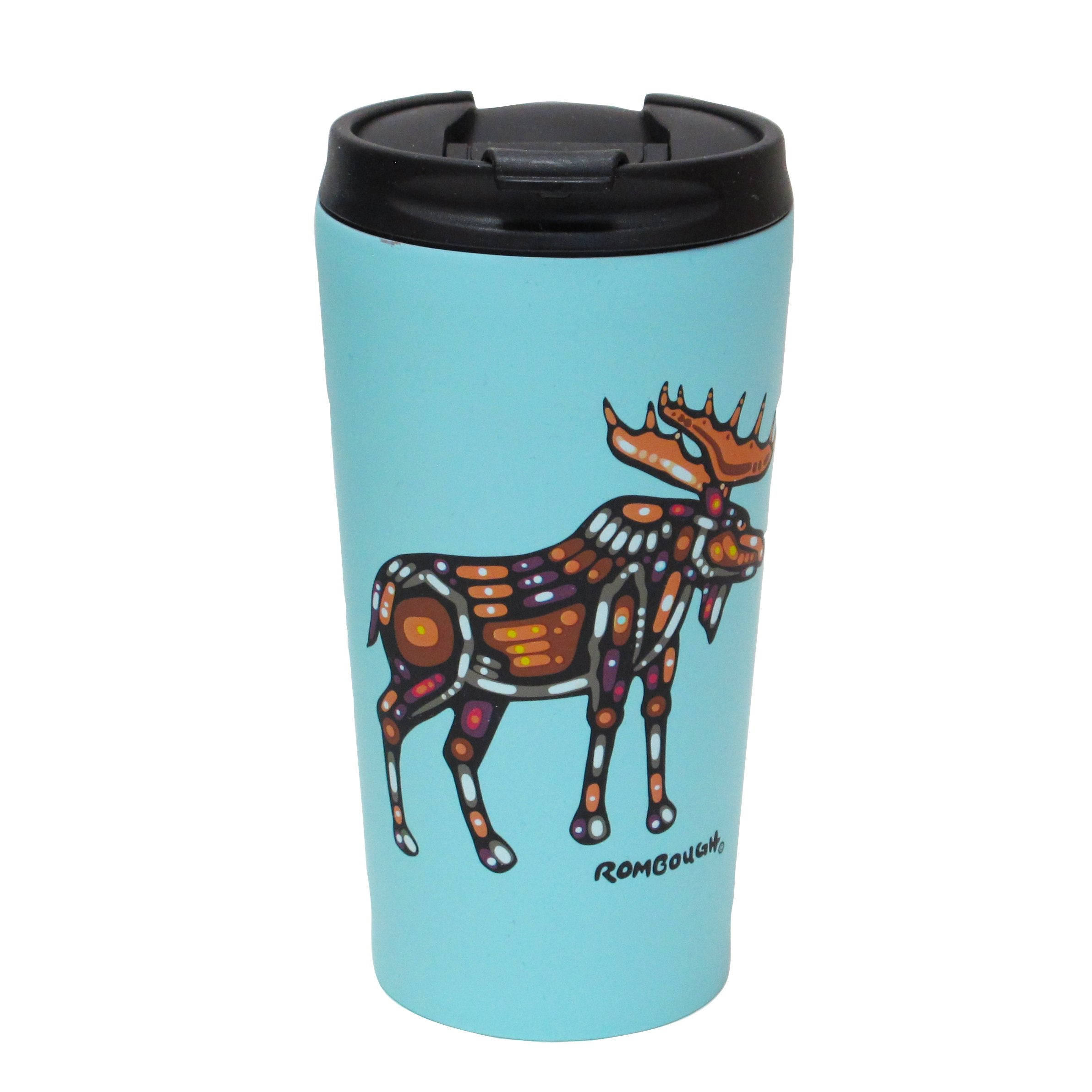John Rombough Moose Travel Mug - Oscardo