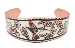 Hummingbird Copper Bracelet