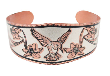 Hummingbird Copper Bracelet - Oscardo
