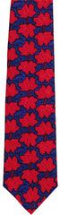 Maple Leaf Silk Tie