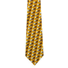 Maxine Noel Eagle Warrior Artist Design Silk Tie